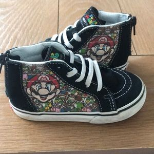 Super Mario limited edition vans